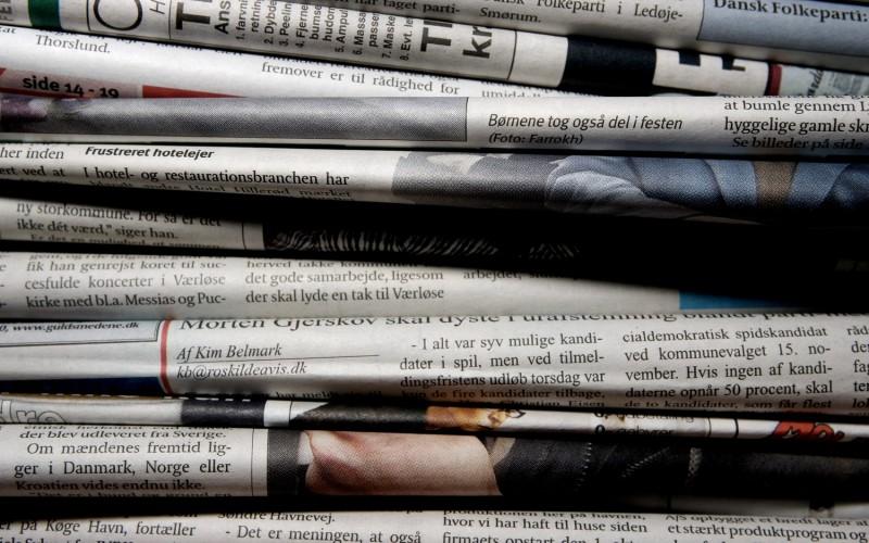 Derfor er aviserne under pres